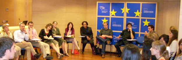 Group discussion at the Barcelona Workshop 2008.